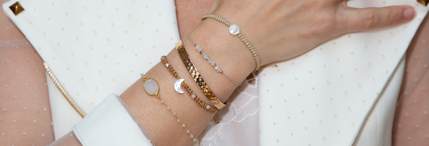 Bracelets personnnalisés pour femme